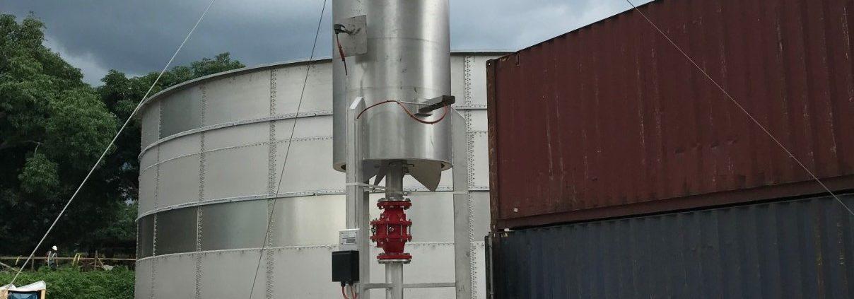 Biogas Flare