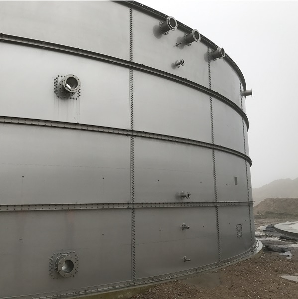 Steel Tanks from Finn Biogas